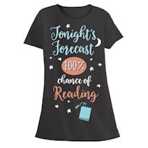 Reading Forecast 100% Night Shirt
