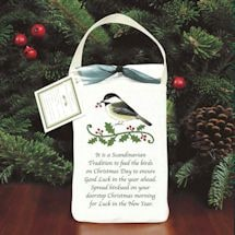Holiday Bird Seed Gift Bag