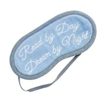 """Read by Day, Dream by Night"" Eye Mask"