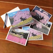 Cherry Trees Note Cards