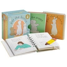 First Books for Baby Set: Pat the Bunny, Pat the Cat, and Pat the Puppy