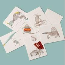Summer Fun Animal Cards