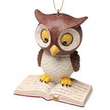 Reading Owl Ornament