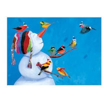 Birdies and Snowman Cards