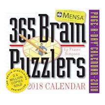 2018 365 Brain Puzzlers Page-a-Day Calendar