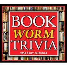 2018 Bookworm Trivia Desk Calendar