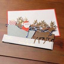 Concertina Sleigh Cards