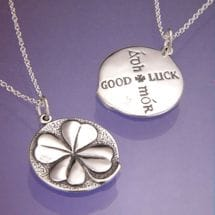 Sterling Silver Four-Leaf Clover Necklace