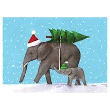 Peaceful Elephants Cards