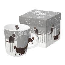 Snowfall Cats Mug