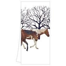 Winter Wildlife Tea Towels: Winter Horses
