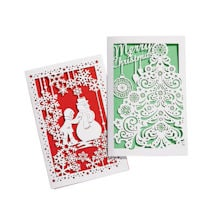 Laser-Cut Christmas Cards (set 2)