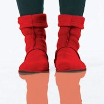 Booties: Red