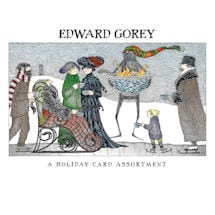 Edward Gorey Holiday Card Set