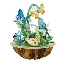 Butterflies and Dragonflies 3D Pirouette Card