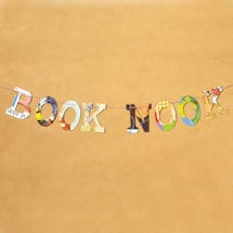 Book Nook Book Garland