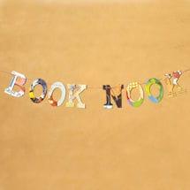 Book Nook Book Garland