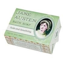 Jane Austen Suds and Sensibility Soaps (set 3)