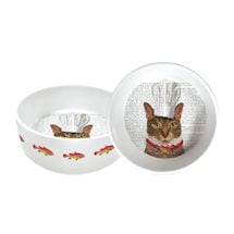 Kitty Chef Cat Dish