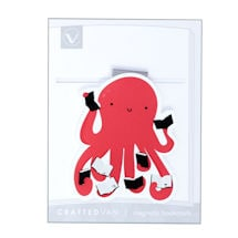 Magnetic Bookmark: Reading Octopus (set 2)