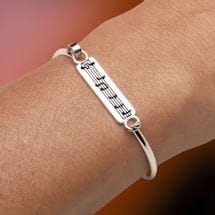 Music Is the Art of Thinking Bracelet
