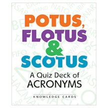 POTUS, FLOTUS, and SCOTUS Knowledge Cards