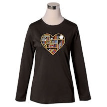 Book Heart Shirt/Sweatshirt