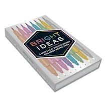 Bright Ideas Metallic Double-Ended Brush Pens