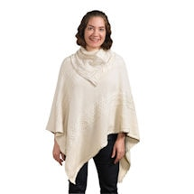 Reading Poncho: Natural Cotton
