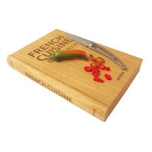 French Cuisine Cutting Board
