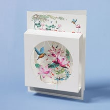 Kingfisher Magic Box Card