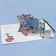 Little Farm Tiny Story Pop-Out Card