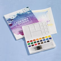 Chroma Blends Watercolor Travel Kit