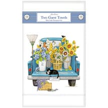 Flower Shop Truck Guest Towels