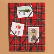 Royal Stewart Tartan Invitation Board
