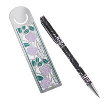 Mackintosh Rose Ball Point Pen and Bookmark Set