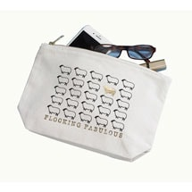 Flocking Fabulous Sheep Canvas Zipper Pouch