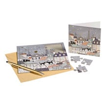 Parisian Cat Puzzle Cards (set 2)