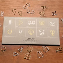 Clip Art: 20 Historical Paper Clips