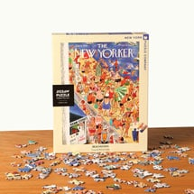 Beachgoing New Yorker Puzzle