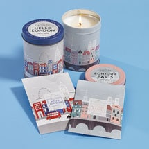 Hello London Candle