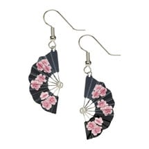 Hiroshige Blossom Fan Earrings