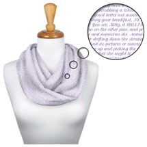 Litograph Scarf - Alice In Wonderland