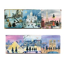 Parisian Cat Coasters
