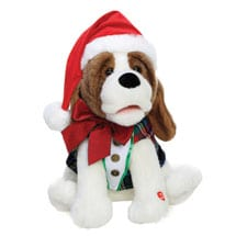 Christmas Waylon Animated Musical Plush