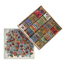 High Jinks! Bookshelves Puzzle