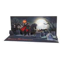 Sleepy Hollow Pop-Up Card