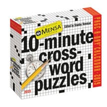 2019 Mensa 10-Minute Crossword Calendar