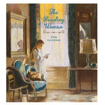 2019 Reading Woman Wall Calendar