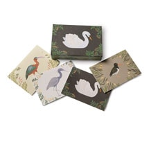 Aquatic Birds Pop-Up Boxed Note Cards
